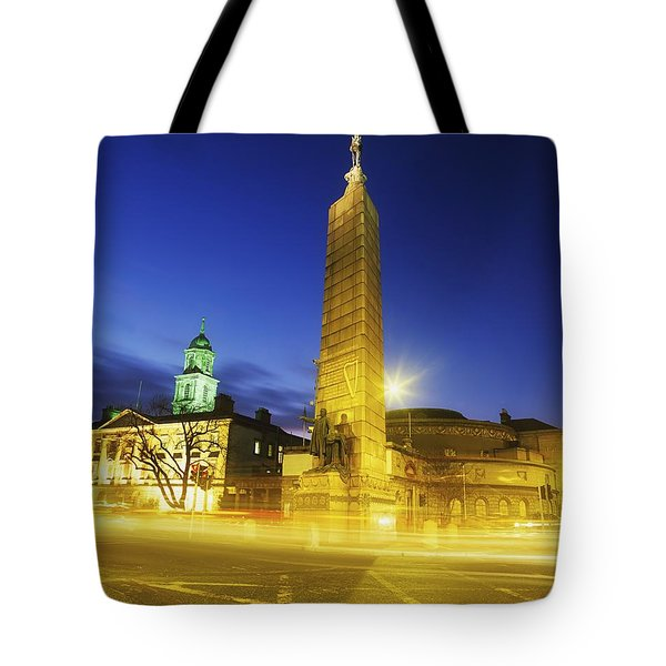 Parnell Square, Dublin, Ireland Parnell Tote Bag by The Irish Image Collection