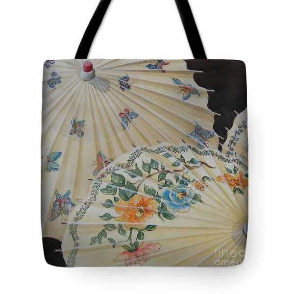 Parosol Parade Sold  Tote Bag