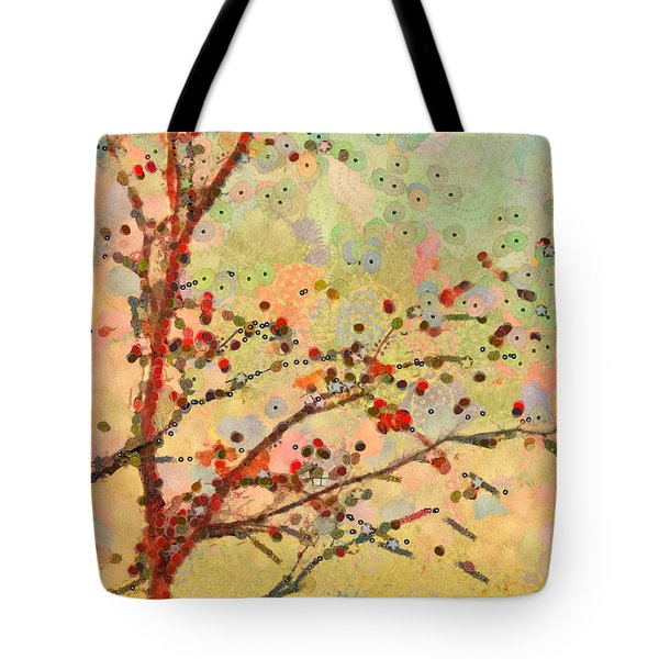Parsi-parla - D16c02 Tote Bag by Variance Collections