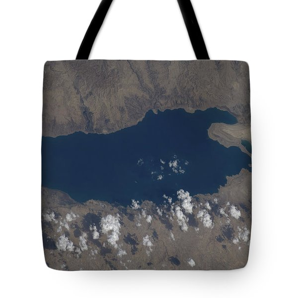 Part Of The Dead Sea And Parts Tote Bag by Stocktrek Images