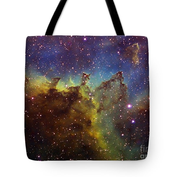 Part Of The Ic1805 Heart Nebula Tote Bag by Filipe Alves