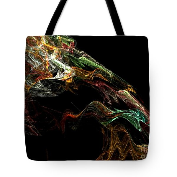 Particles Of Love  Tote Bag