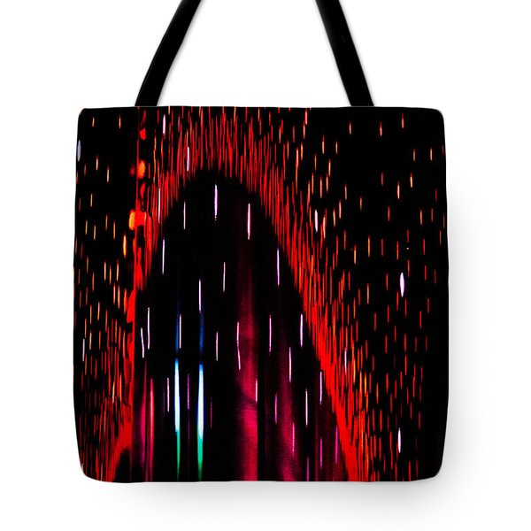 Particulated Arch Tote Bag by Christopher Holmes
