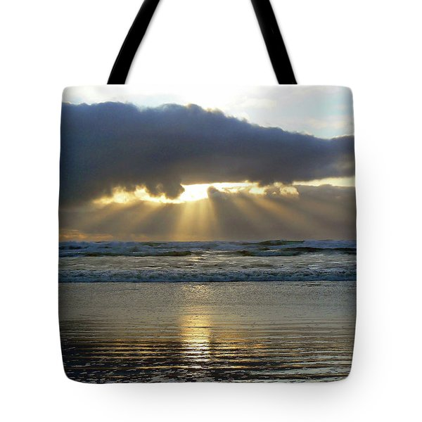 Parting The Heavens Tote Bag by Pamela Patch