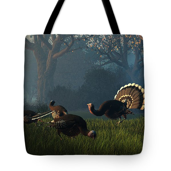 Party Of Four Tote Bag