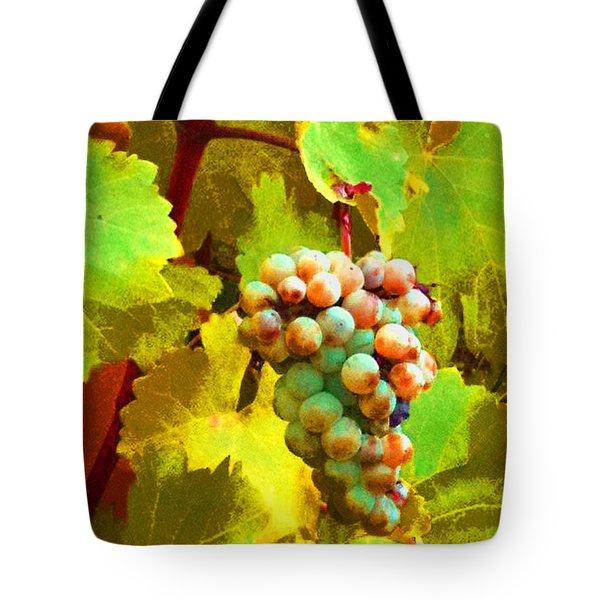 Paschke Grapes Tote Bag