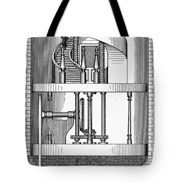 Passenger Elevator, 1876 Tote Bag by Granger