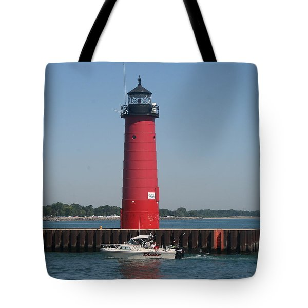 Tote Bag featuring the photograph Passing By by Kay Novy
