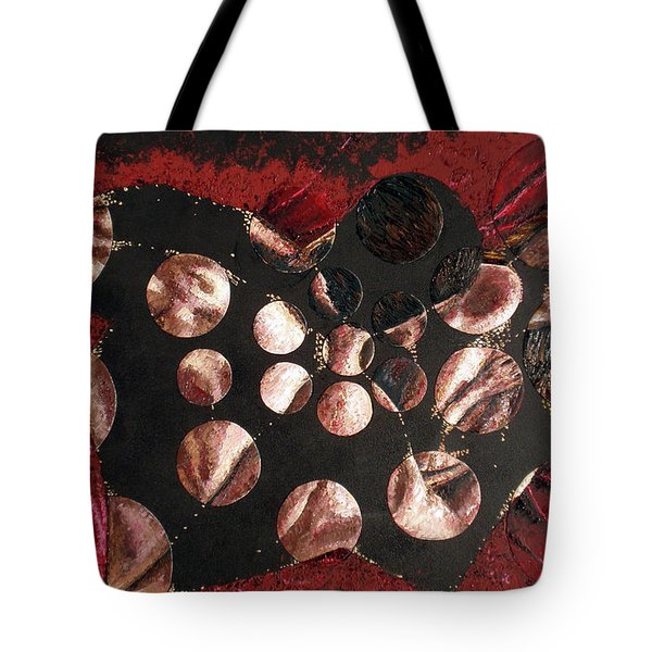 Passion Explosion I Tote Bag by Tatjana Popovska