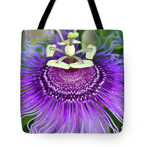 Passion Flower Tote Bag by Albert Seger