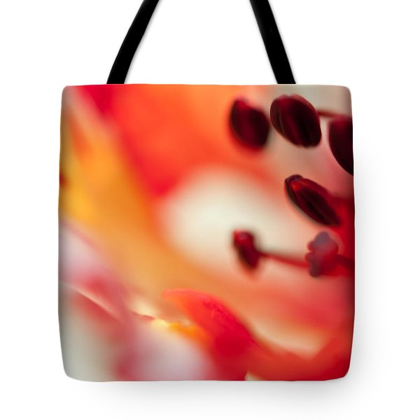 Passion For Flowers. Flamboyant Blossom  Tote Bag by Jenny Rainbow