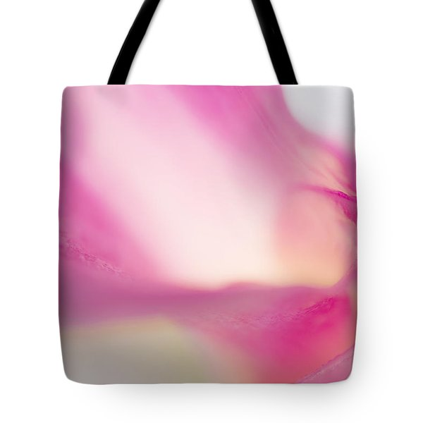 Passion For Flowers. Purple Light Tote Bag by Jenny Rainbow
