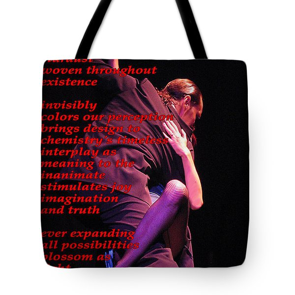 Passion Tote Bag by Richard Donin