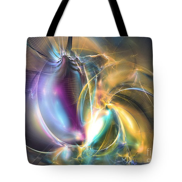 Passionate - Abstract Art Tote Bag