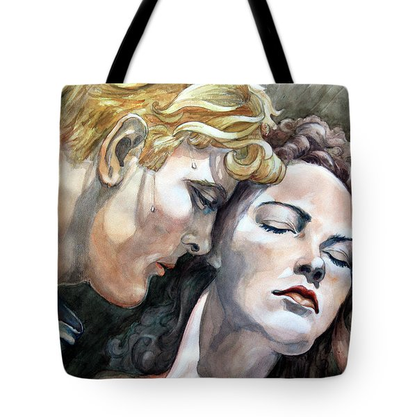 Passionate Embrace Tote Bag by Hanne Lore Koehler
