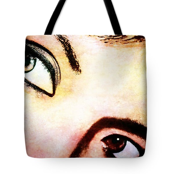 Tote Bag featuring the photograph Passionate Eyes by Ester  Rogers