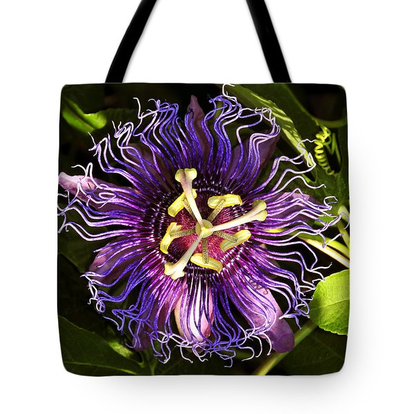 Passionflower Tote Bag by David Lee Thompson