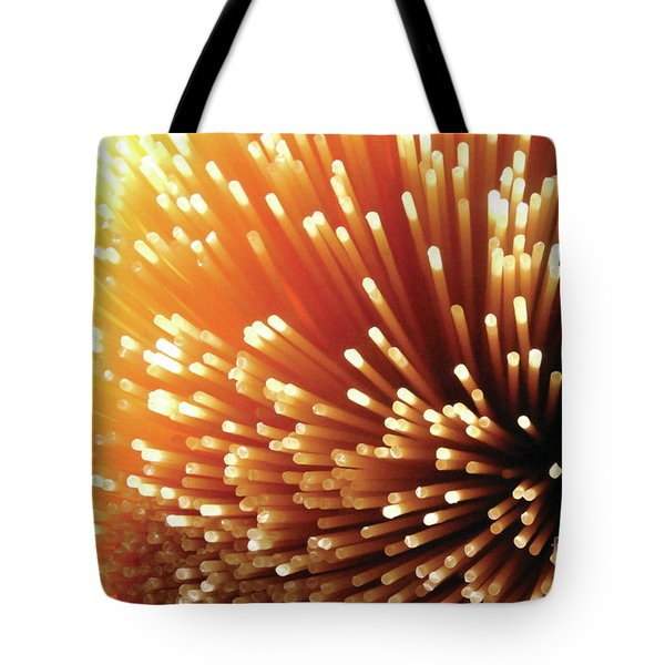 Pasta Illumination Tote Bag