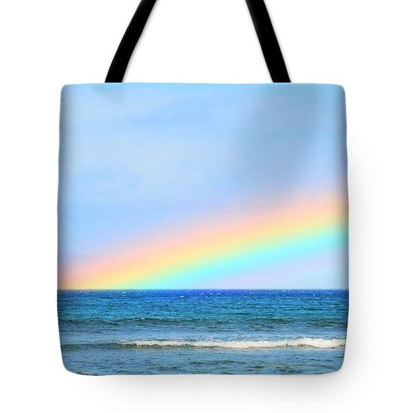 Pastel Rainbow Tote Bag