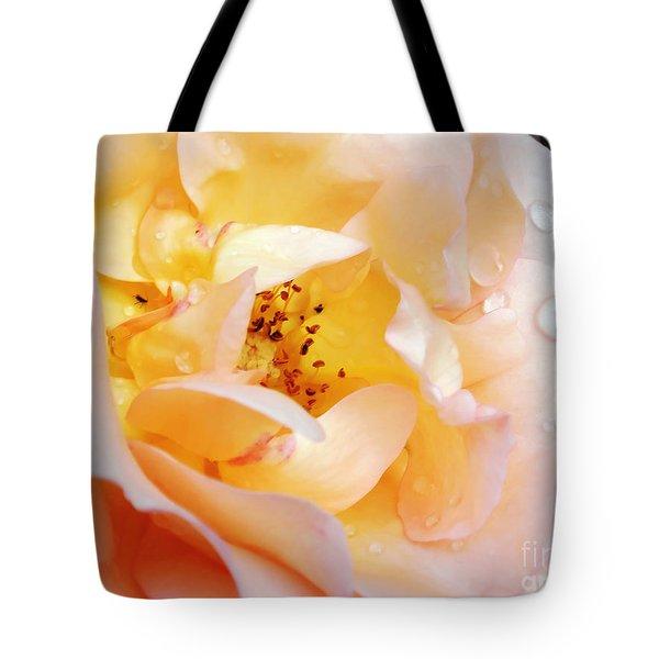 Pastel Rose Tote Bag by Kaye Menner