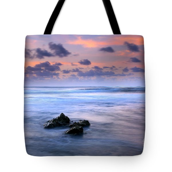Pastel Tides Tote Bag by Mike  Dawson