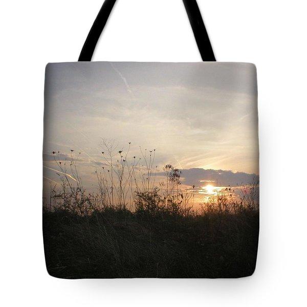 Pasture Sunset Tote Bag