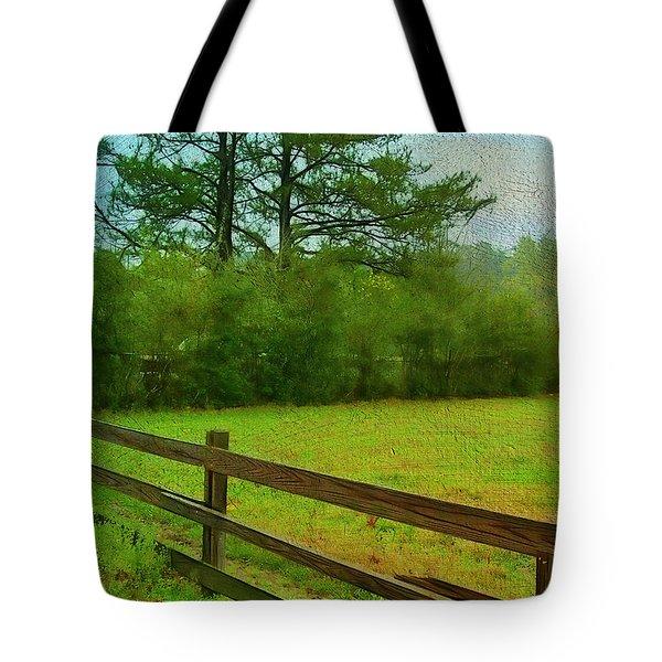 Pastureland Tote Bag by Judi Bagwell