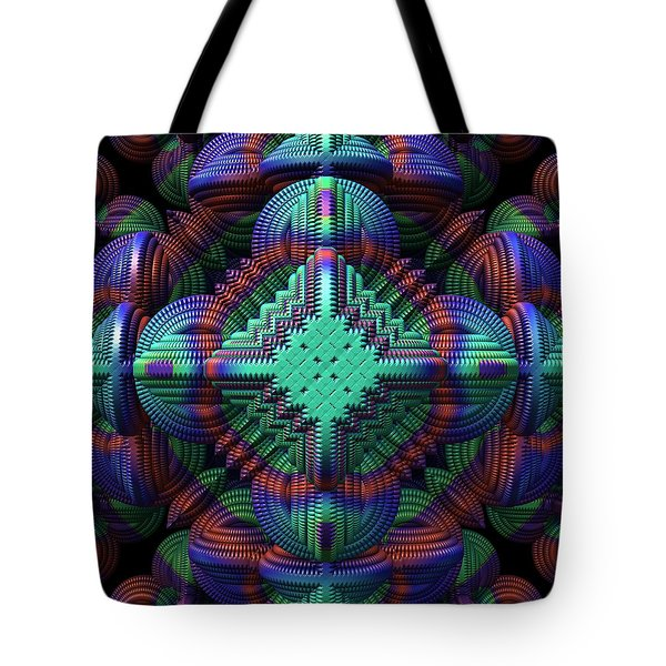 Patchwork Tote Bag by Lyle Hatch