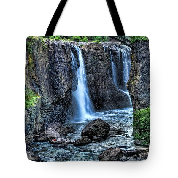 Paterson Great Falls Tote Bag by Paul Ward
