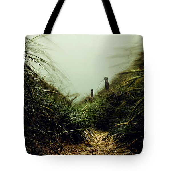 Path Through The Dunes Tote Bag by Hannes Cmarits