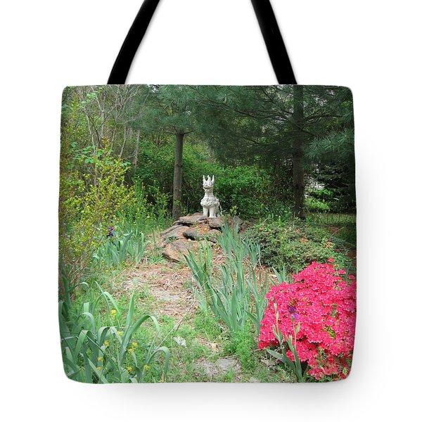Path To The Dragon  Tote Bag by Nancy Patterson