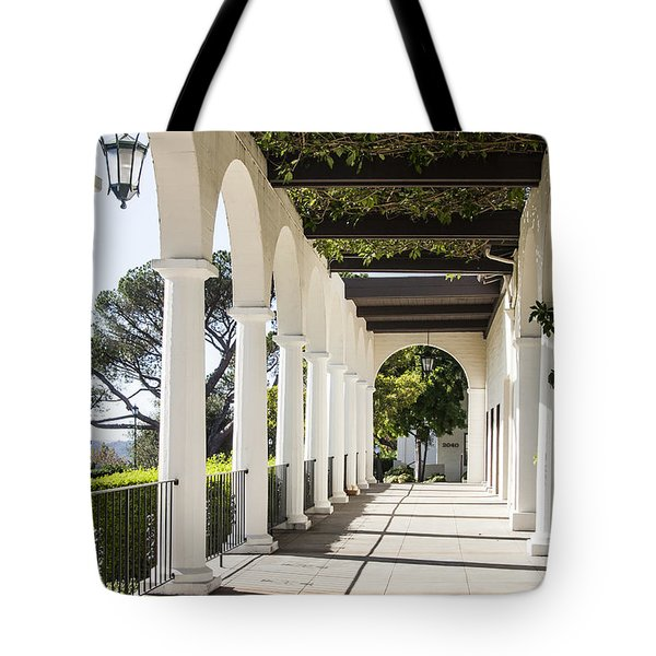 Path To The Gardens Tote Bag by Marta Cavazos-Hernandez