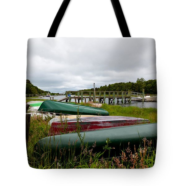 Patiently Waiting Tote Bag by Michelle Wiarda