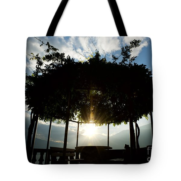 Patio Tote Bag