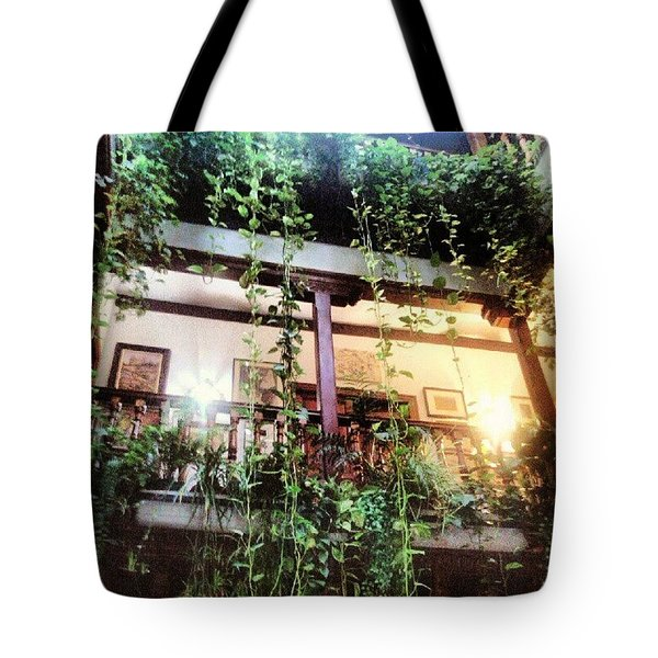 Patio Toledano Tote Bag