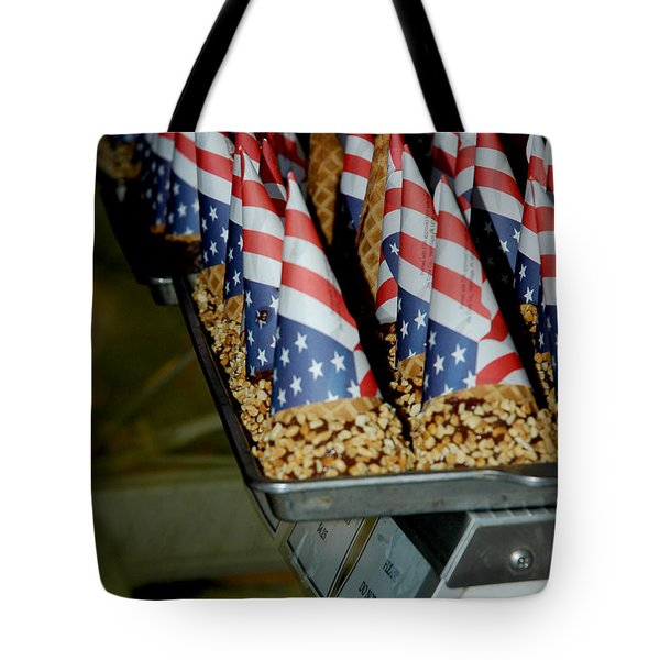 Patriotic Treats Virginia City Nevada Tote Bag by LeeAnn McLaneGoetz McLaneGoetzStudioLLCcom