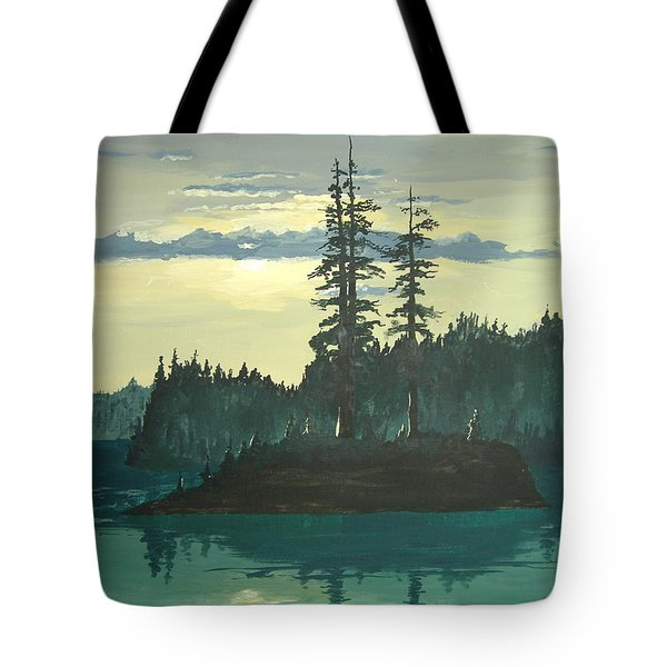 Peace And Quiet Tote Bag by Norm Starks