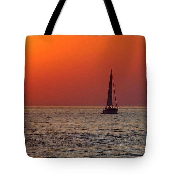 Peace And Tranquility Tote Bag by Frozen in Time Fine Art Photography
