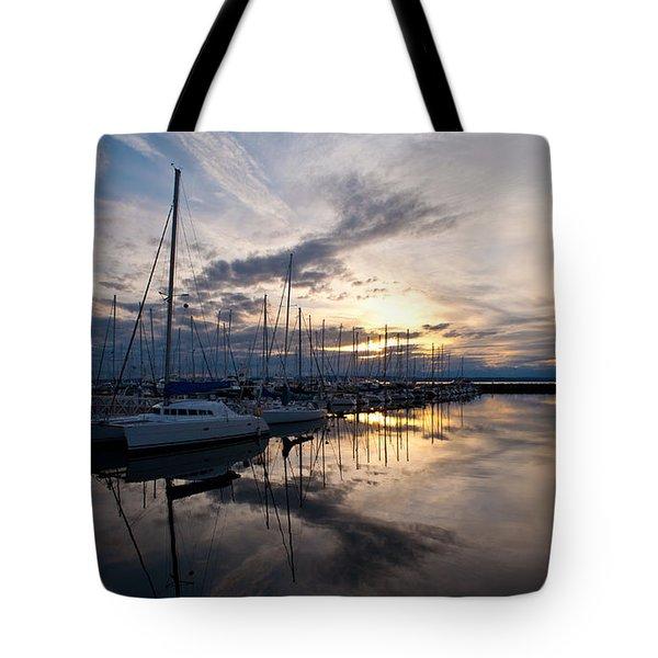 Peaceful Water Tote Bag