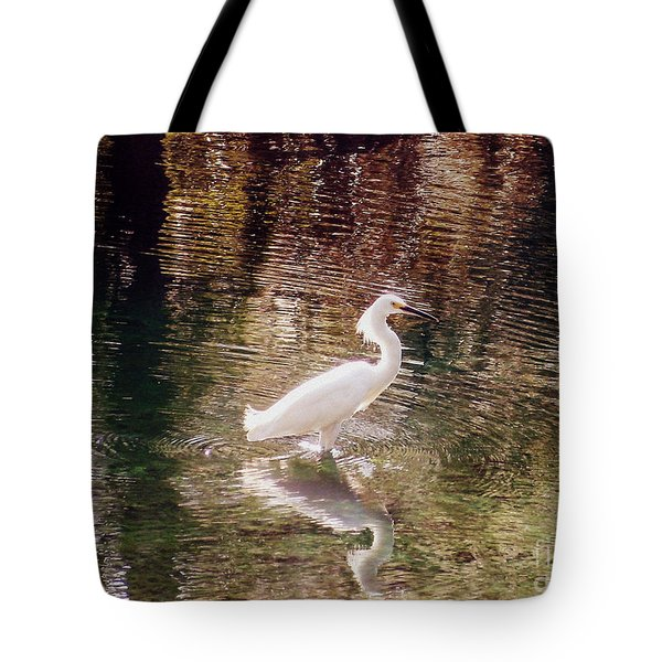 Tote Bag featuring the photograph Peaceful Waters by Lydia Holly