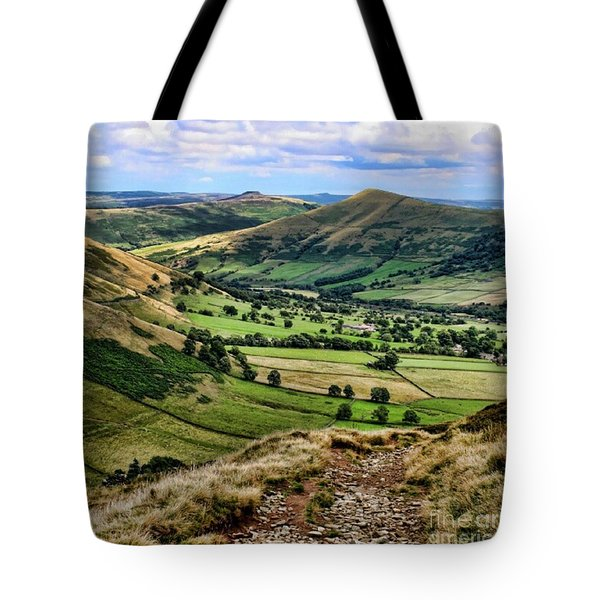 Peak District Tote Bag by Isabella F Abbie Shores FRSA