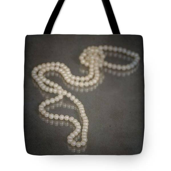 Pearl Necklace Tote Bag by Joana Kruse