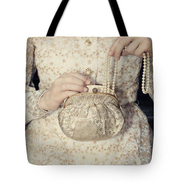 Pearls Tote Bag by Joana Kruse