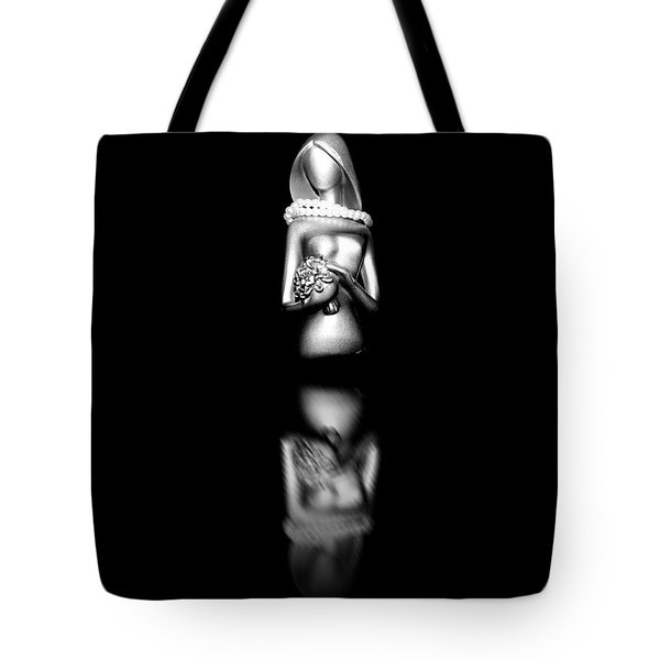 Pearls Of Love Tote Bag