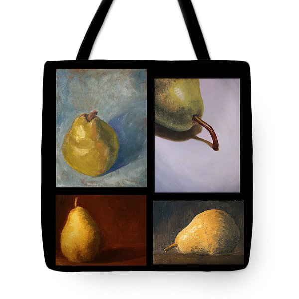 Pears The Series Tote Bag by Rachel Hames