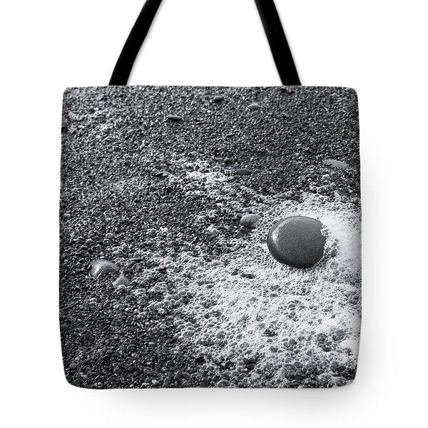 Pebble On Foam Tote Bag