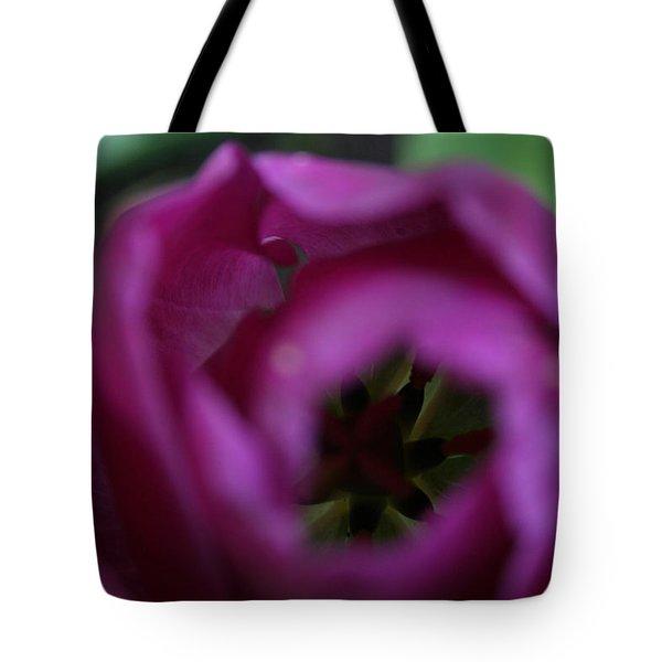 Peek-a-boo Tote Bag by Angela Hansen