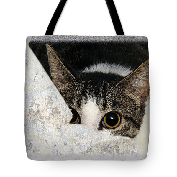 Peek A Boo I See You Too Tote Bag by Andee Design