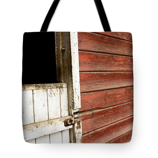 Tote Bag featuring the photograph Peeling Paint by Lorraine Devon Wilke
