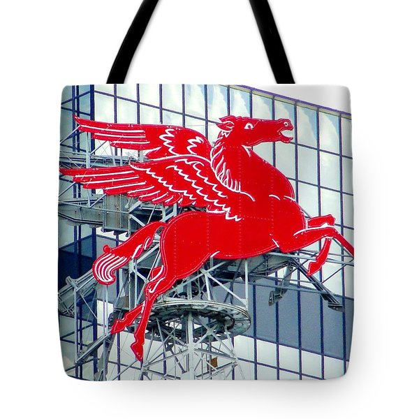 Tote Bag featuring the photograph Pegasus by Charlie and Norma Brock